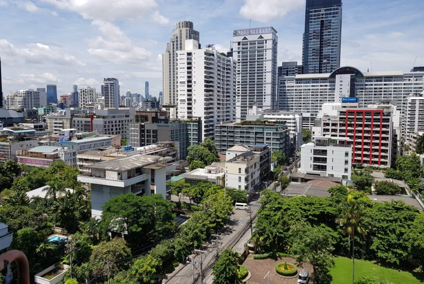 The Master Centrium Condo at Asoke 2-bedrooms - window view