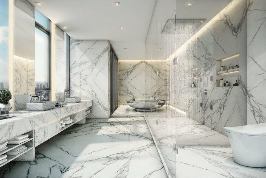 The Monument Thong Lo - Penthouse Duplex Bathrooms