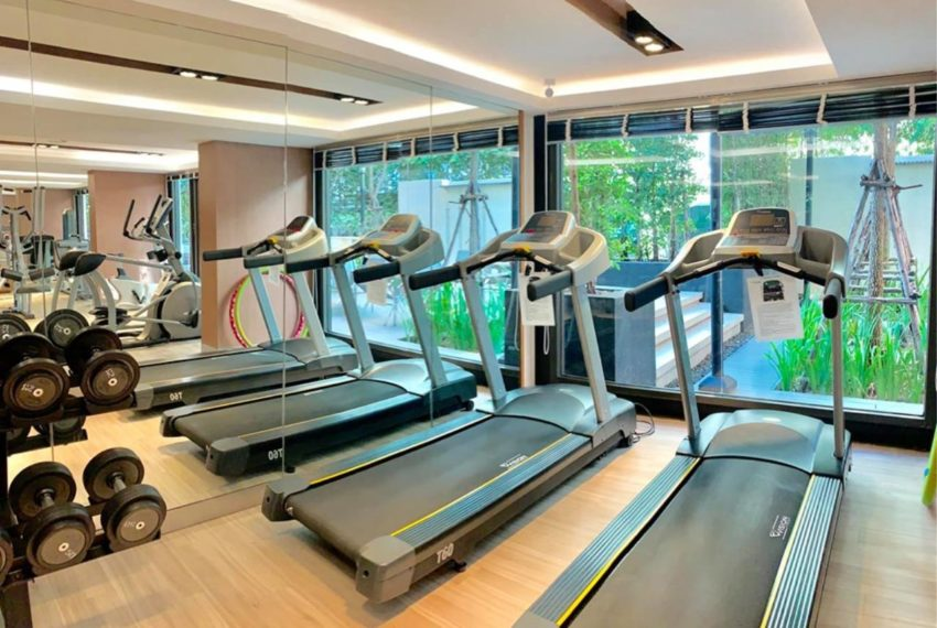 The Nest Sukhumvit 22 condo - gym