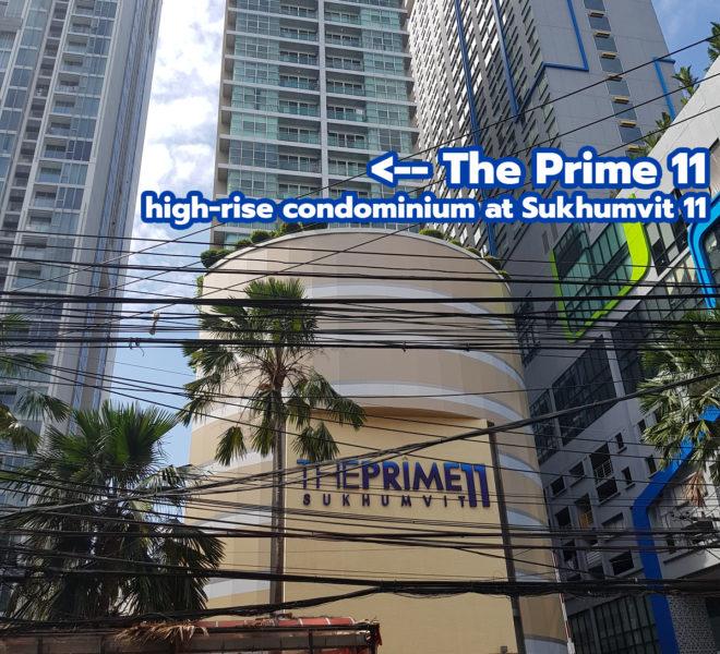 The Prime 11 condominium REMAX CondoDee