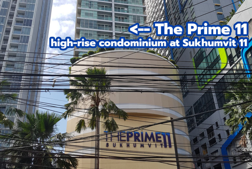 The Prime 11 condominium REMAX CondoDee