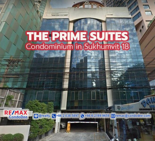 The Prime Suites Condominium in Sukhumvit 18