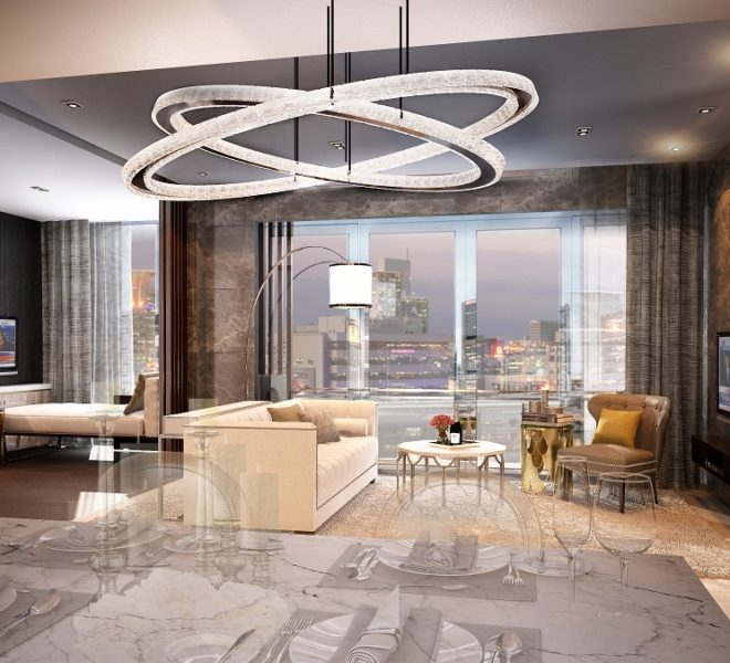 The Rich Nana Condominium - 2bedroom living 2