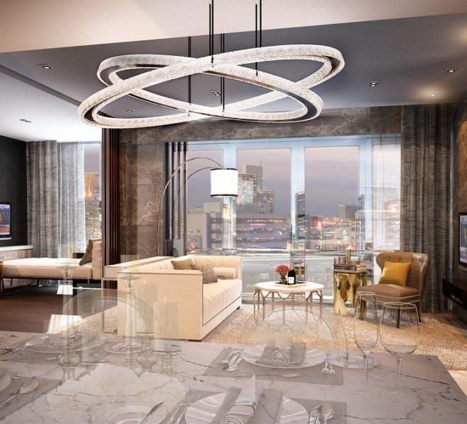 The Rich Nana Condominium - 2bedroom living