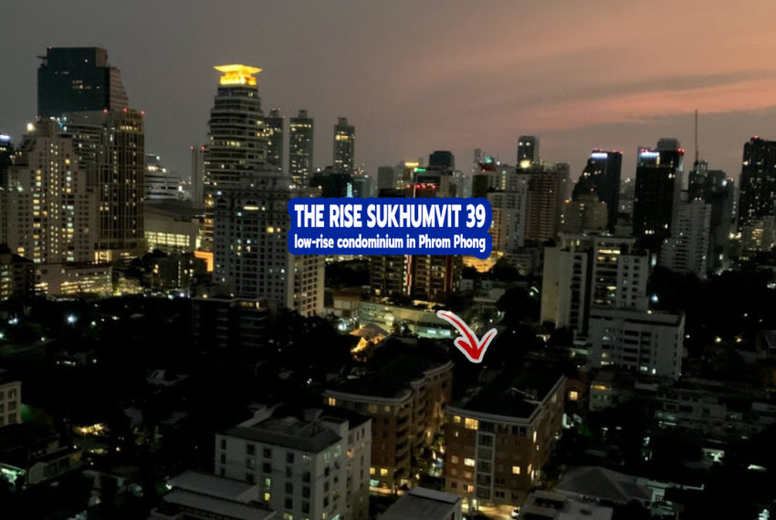 The Rise Sukhumvit 39 condo - REMAX CondoDee
