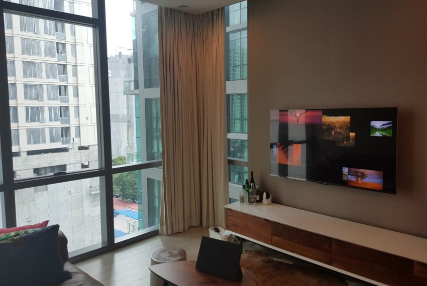 The-Room-Sukhumvit-21-1bedroom-sale-flat-TV