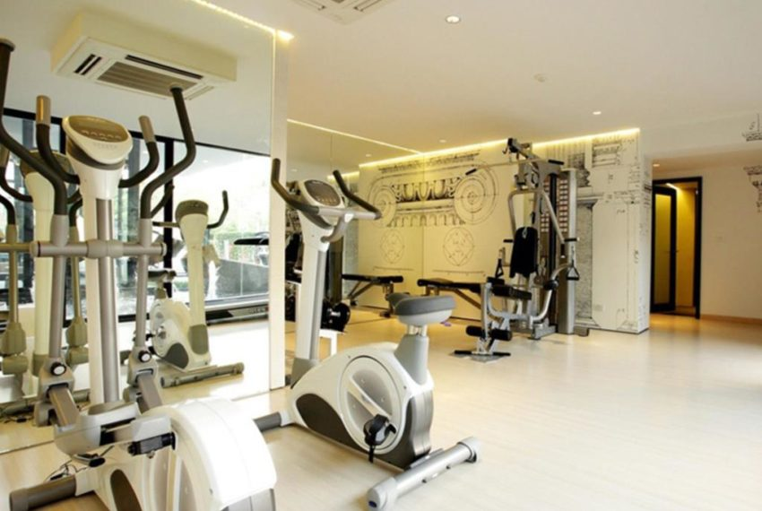 The Seed Musee Sukhumvit 26 condo - fitness