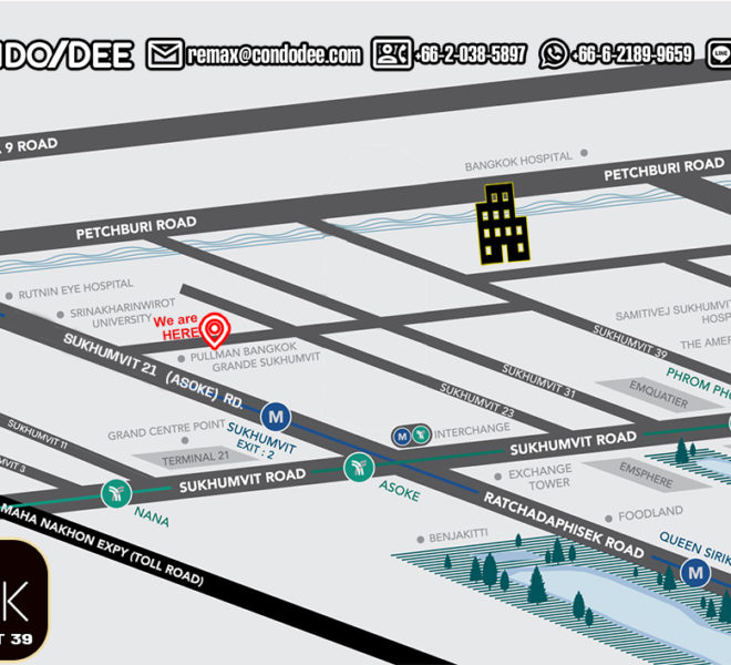 The Teak Sukhumvit 39 - map