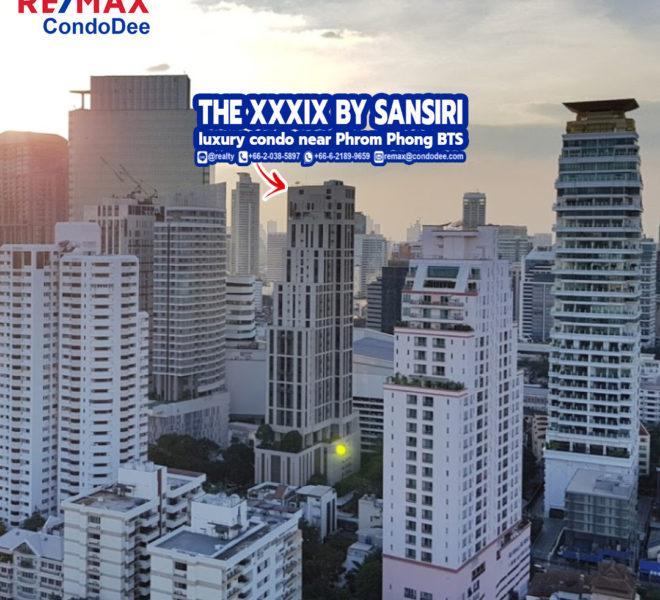 The XXXIX By Sansiri - Luxury Condominium Near Emquartier