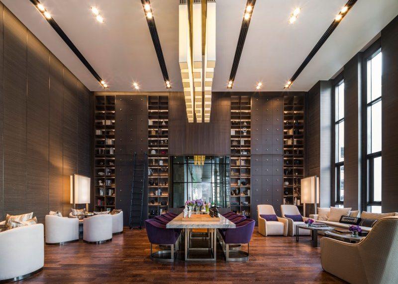 The XXXIX by Sansiri condominium - library