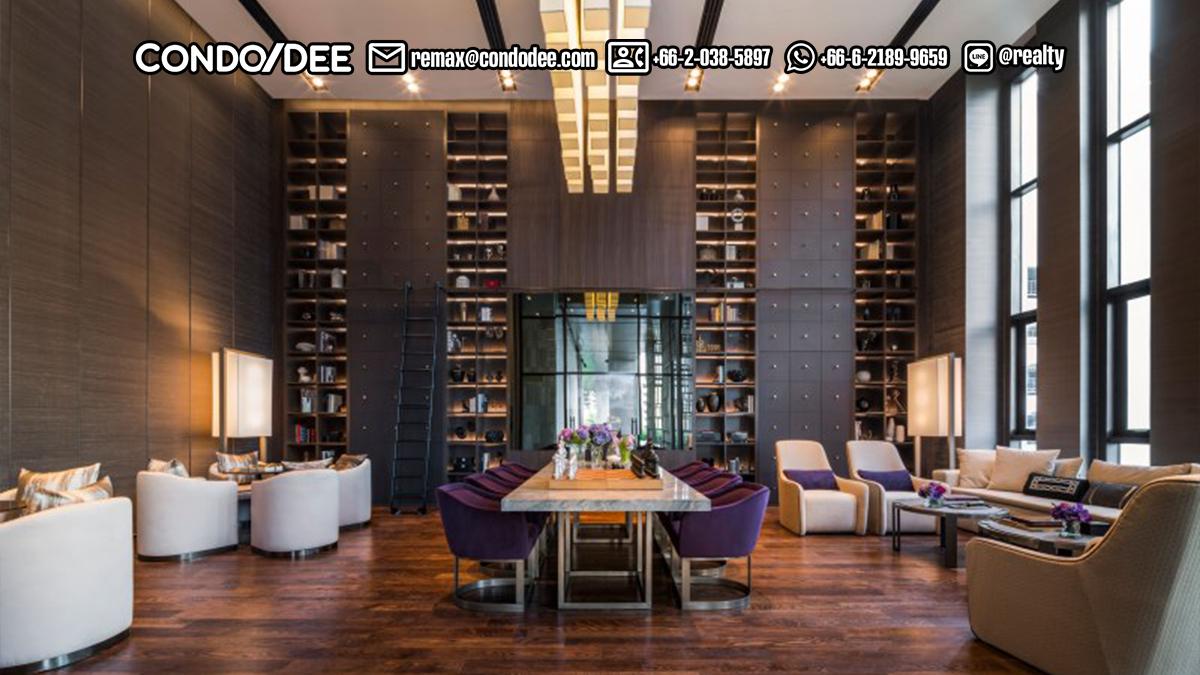 The XXXIX by Sansiri condominium - lobby