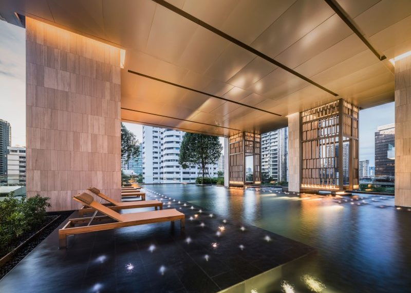 The XXXIX by Sansiri condominium - relax area