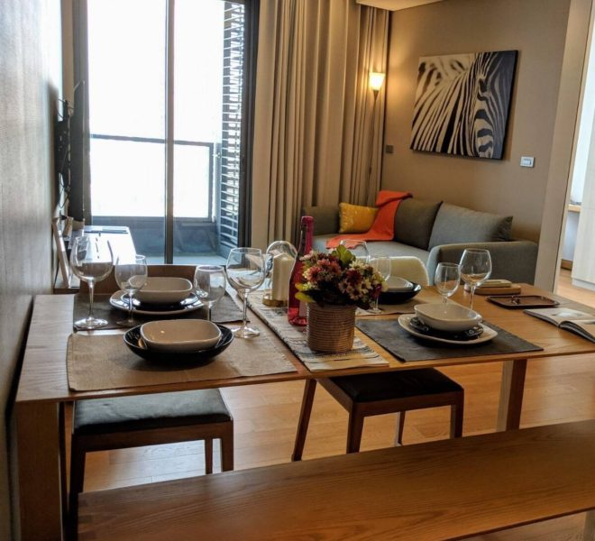2-bedroom apartment for rent in Prompong - mid-floor - The Lumpini 24