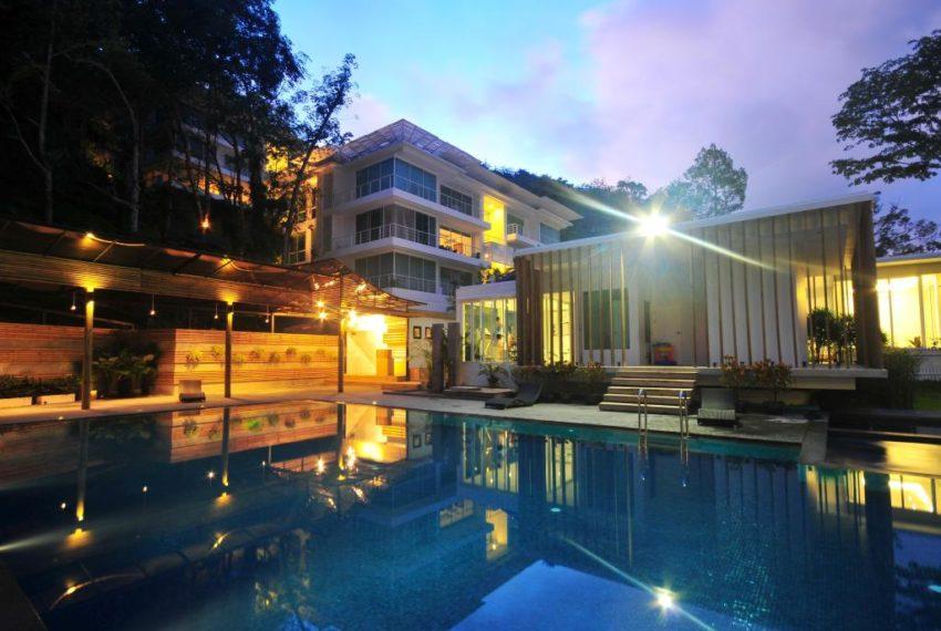 The trees Residence in Kamala Phuket - night view