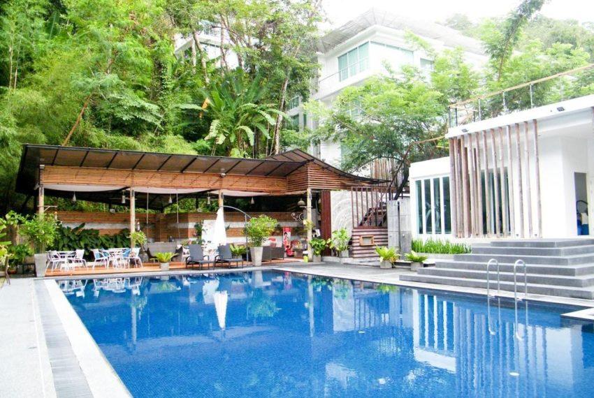 The trees Residence in Kamala Phuket - pool area