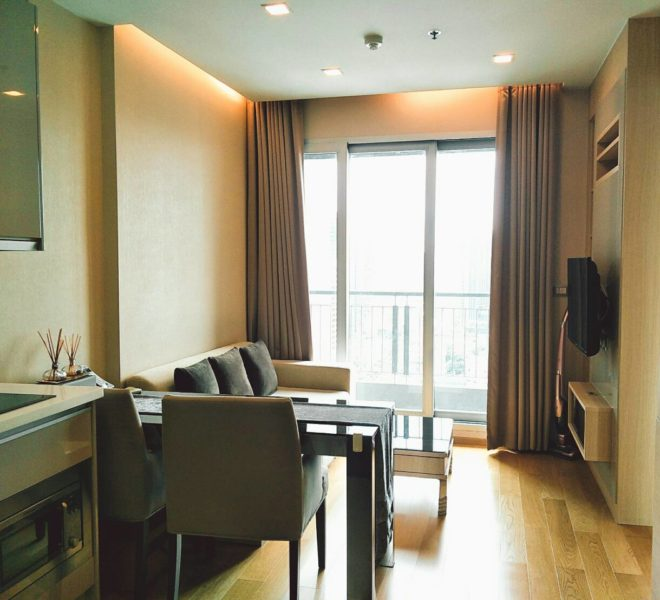 1-Bedroom Condo On High Floor for Sale in The Address Asoke