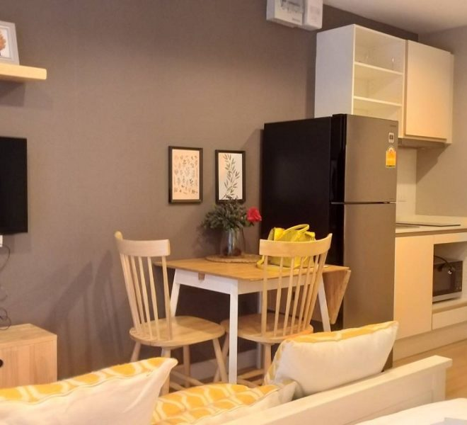 Cheap condo for sale in a low-rise building - 1 bedroom - near MRT - The Nest Sukhumvit 22