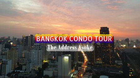 The Address Asoke Luxury Bangkok Condominium near MRT Phetchaburi and Makkasan Airport Rail Link