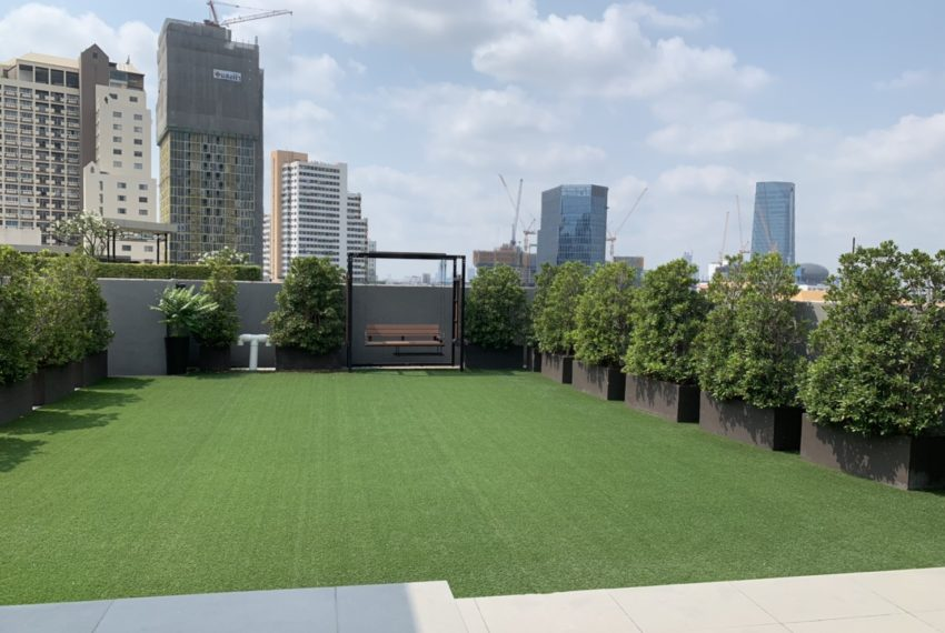 Trapezo Sukhumvit 16 - rooftop garden