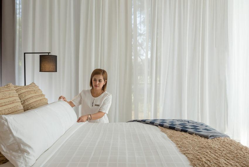 Twinpalmes Residences MontAzure - One Bedroom Show Suite - Bedroom+Housekeeper