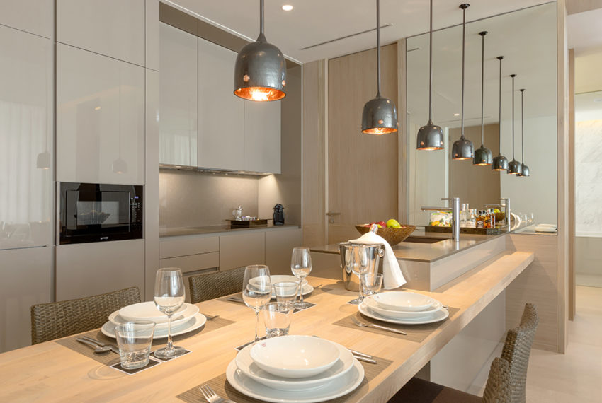 Twinpalmes Residences MontAzure - One Bedroom Show Suite - Kitchen