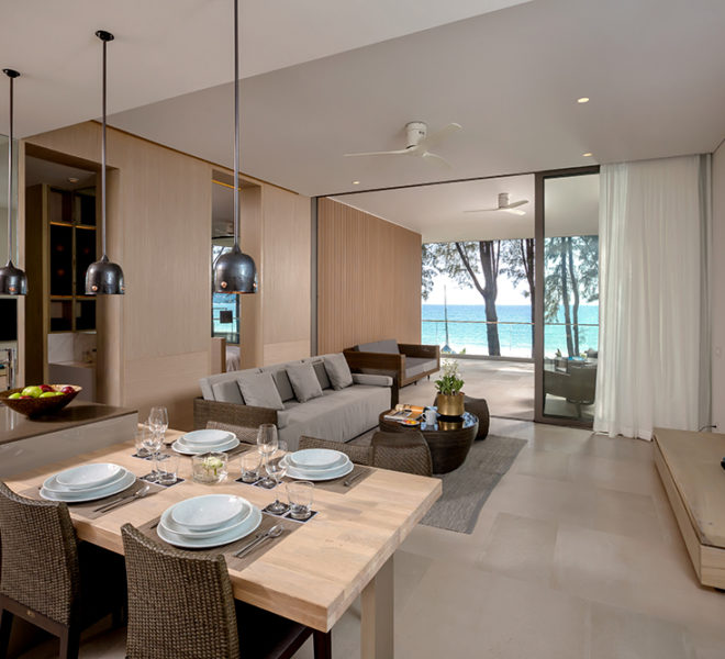 Twinpalmes Residences MontAzure - One Bedroom Show Suite - Living Room Seaview