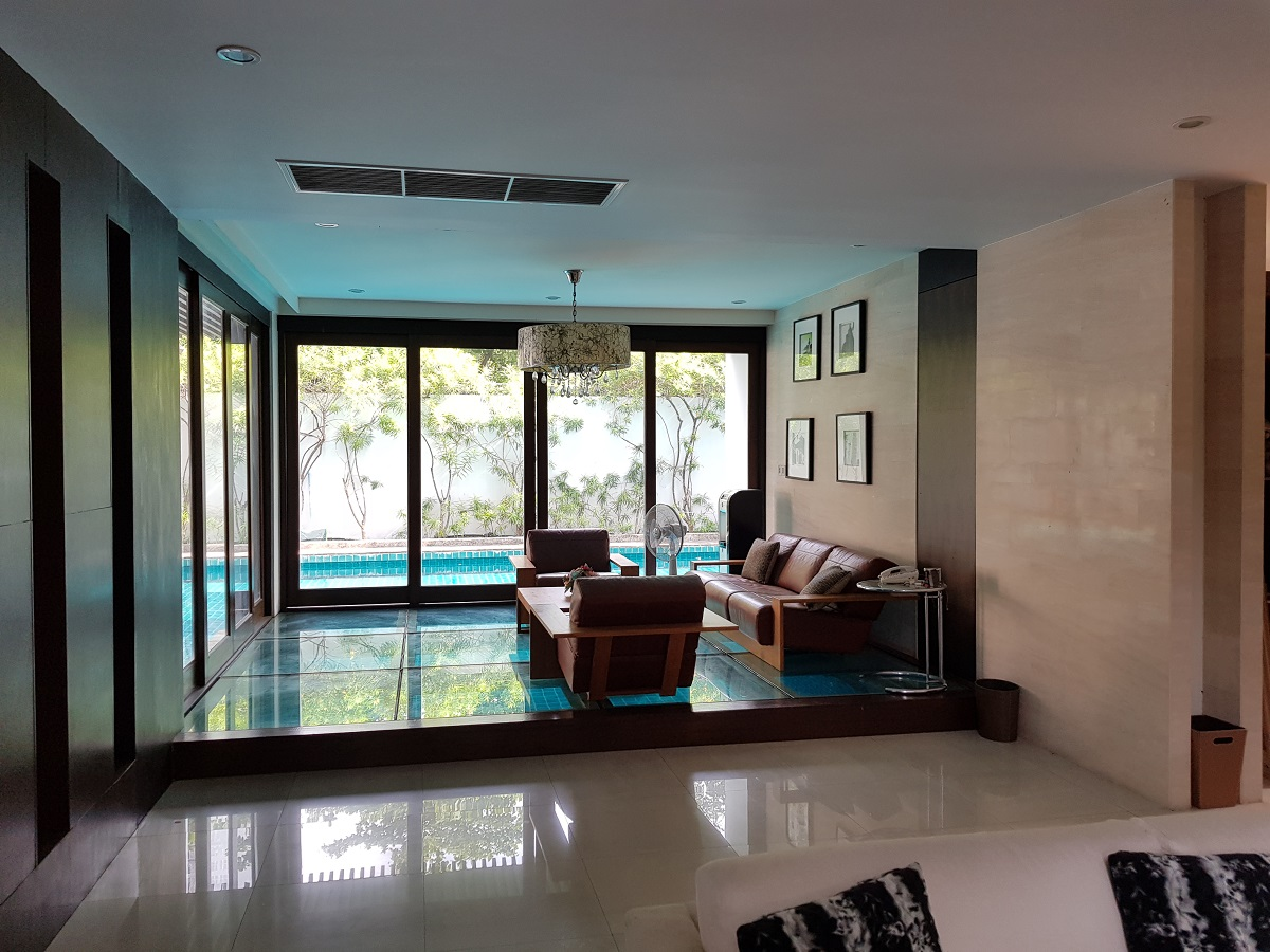 The owner is willing to sell this house for personal (family health) reasons. House is owned by a company so that the buyer has a choice to take over a company or buy property directly (for Thai national only). Serious inquiries only. Seller requires to present proof of funds prior to the disclosure of any details and showing.