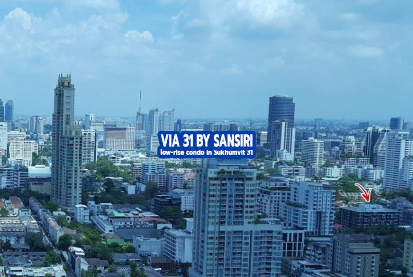 Via 31 by Sansiri 1 - REMAX CondoDee