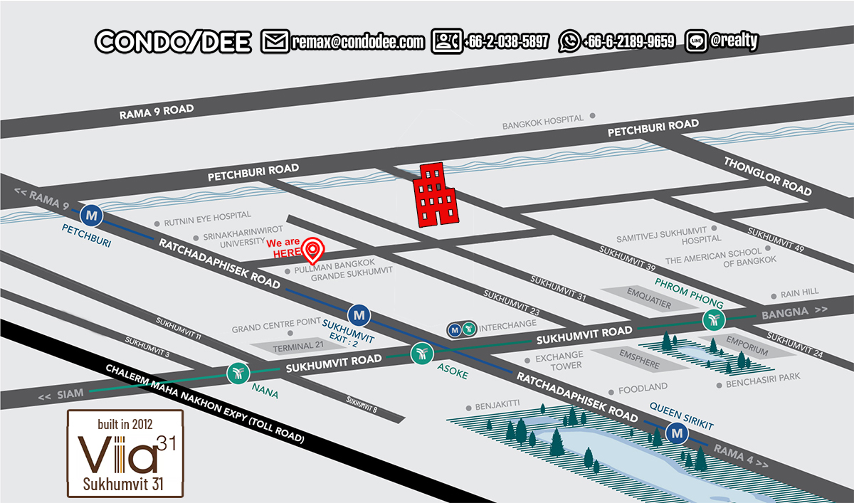Via 31 by Sansiri Low-Rise Condominium in Sukhumvit 31