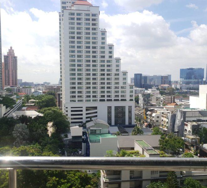 Large 1-bedroom condo near Asoke BTS - mid-floor - unblocked view - Lake Avenue