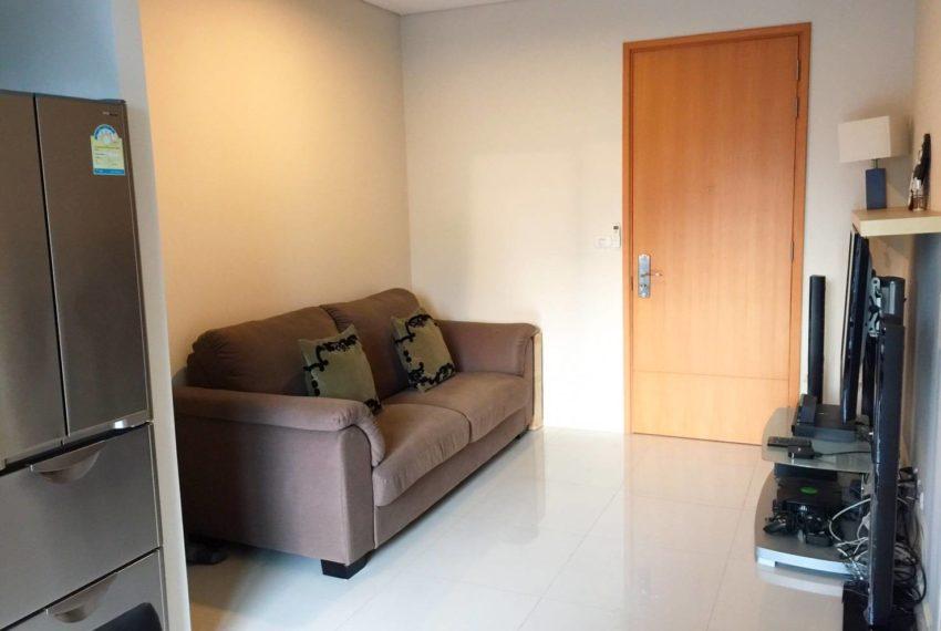 Villa Asoke 1 bedroom sale low floor - flat TV