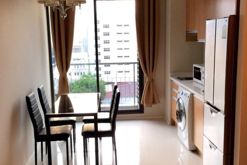 Villa Asoke 1 bedroom sale low floor - kitchen