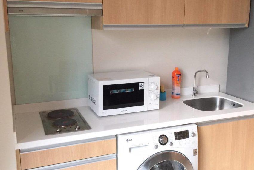 Villa Asoke 1 bedroom sale low floor - washing machine