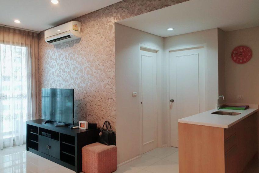 Villa Asoke 1b1b rent - flat TV