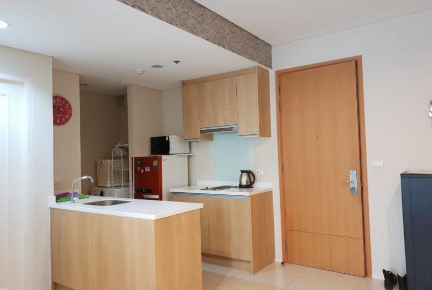 Villa Asoke 1b1b rent - kitchen