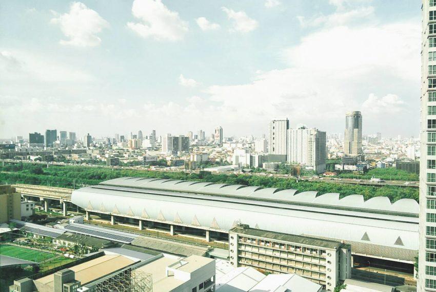 Villa Asoke 2bedroom sale - view Makkasan