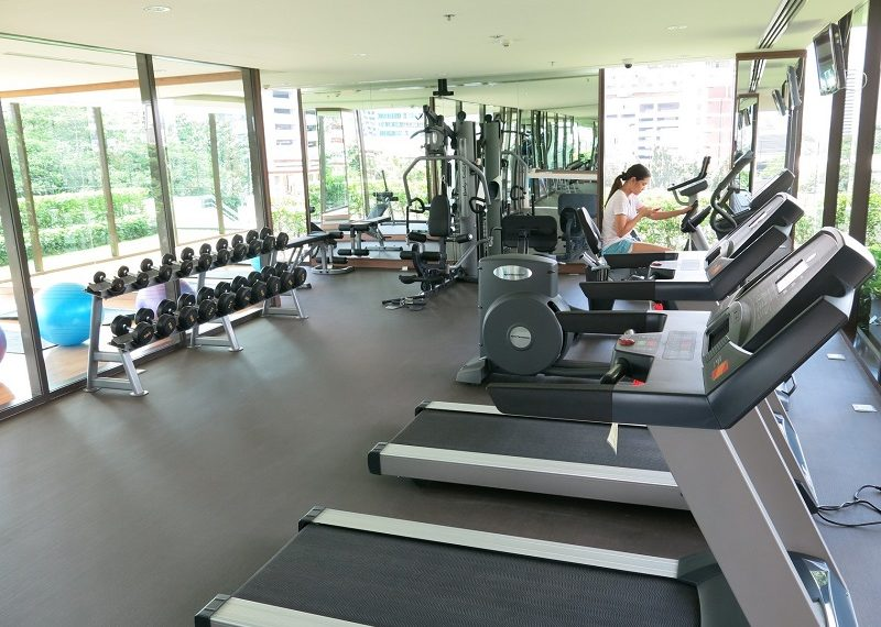 Villa Asoke Condominium - fitness gym room 02