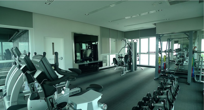 Villa Asoke Condominium - fitness gym room 03