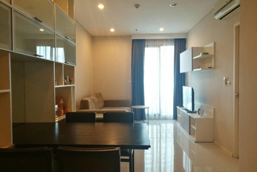 Villa-Asoke-Rent-1-bedroom-low-floor-dinning
