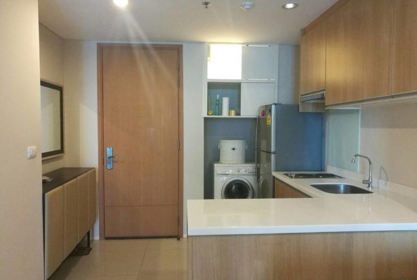 Villa-Asoke-Rent-1-bedroom-low-floor-kitchen
