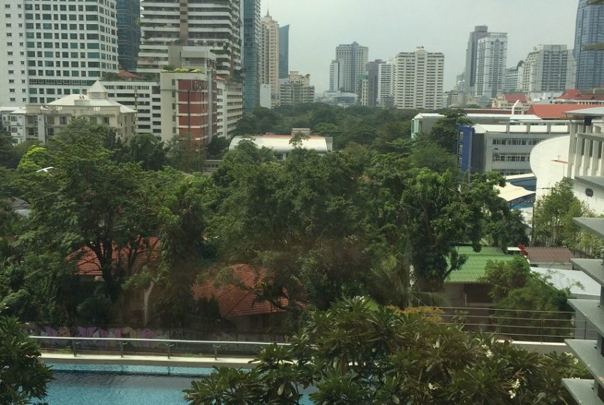 Villa Asoke duplex 1 bedroom sale low floor - city view