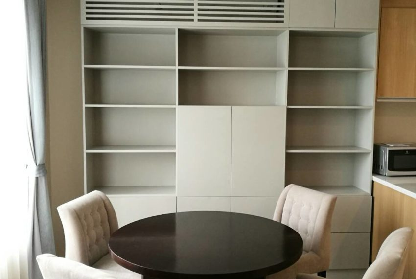 Villa Asoke - rent - 1b2b duples - low floor - dinning
