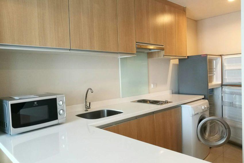 Villa Asoke - rent - 1b2b duples - low floor - kitchen