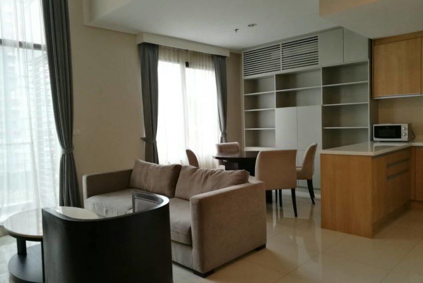 Villa Asoke - rent - 1b2b duples - low floor - living area