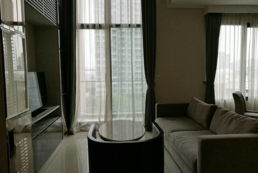 Villa Asoke - rent - 1b2b duples - low floor - living room