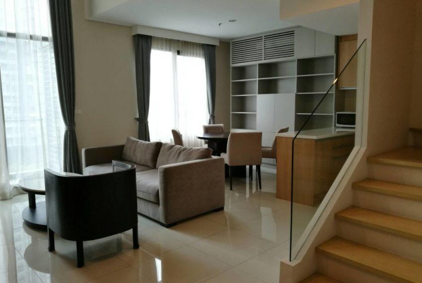 Villa Asoke - rent - 1b2b duples - low floor - stairs