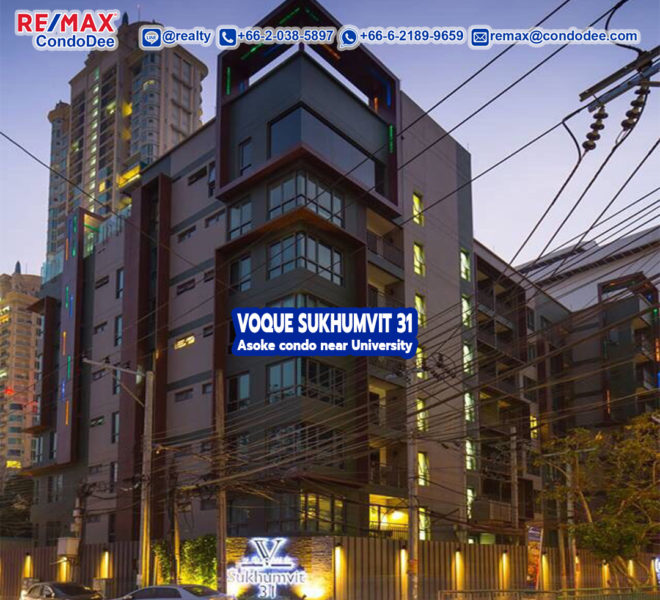 Voque Sukhumvit 31- REMAX CondoDee