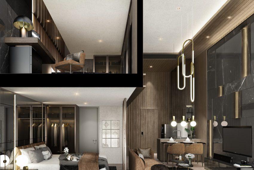 Walden Sukhumvit 39 - 2br loft 2