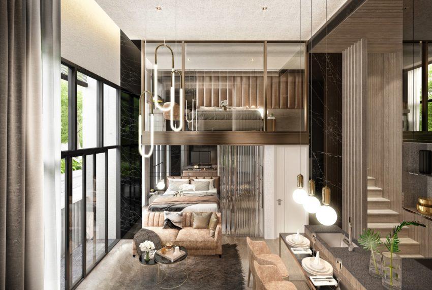 Walden Sukhumvit 39 - 2br loft