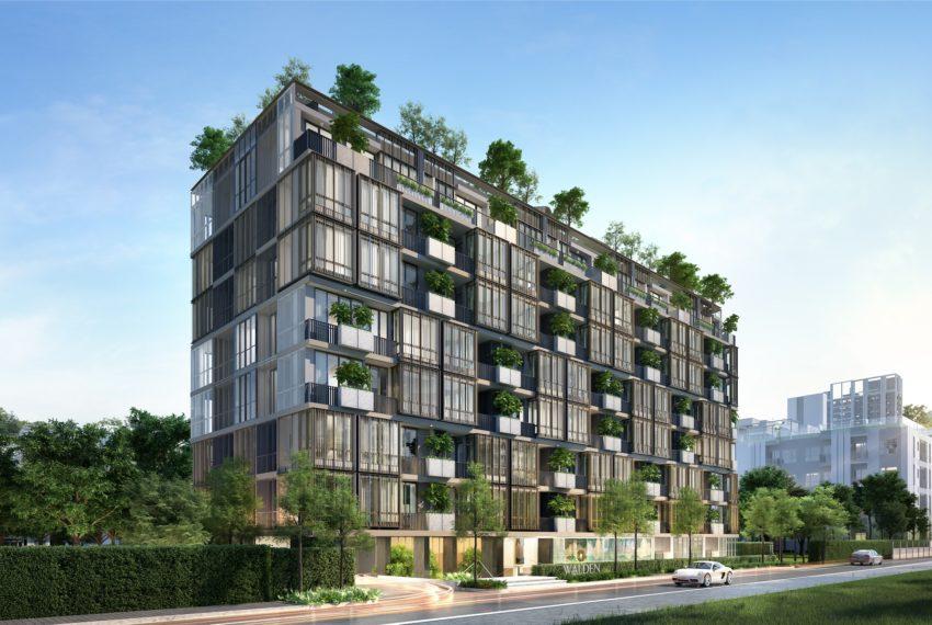 Walden Sukhumvit 39 - building